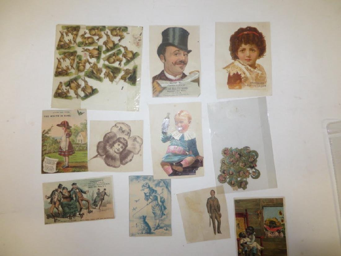 Victorian Cut Outs and  Paper Ornamentations ( 52)