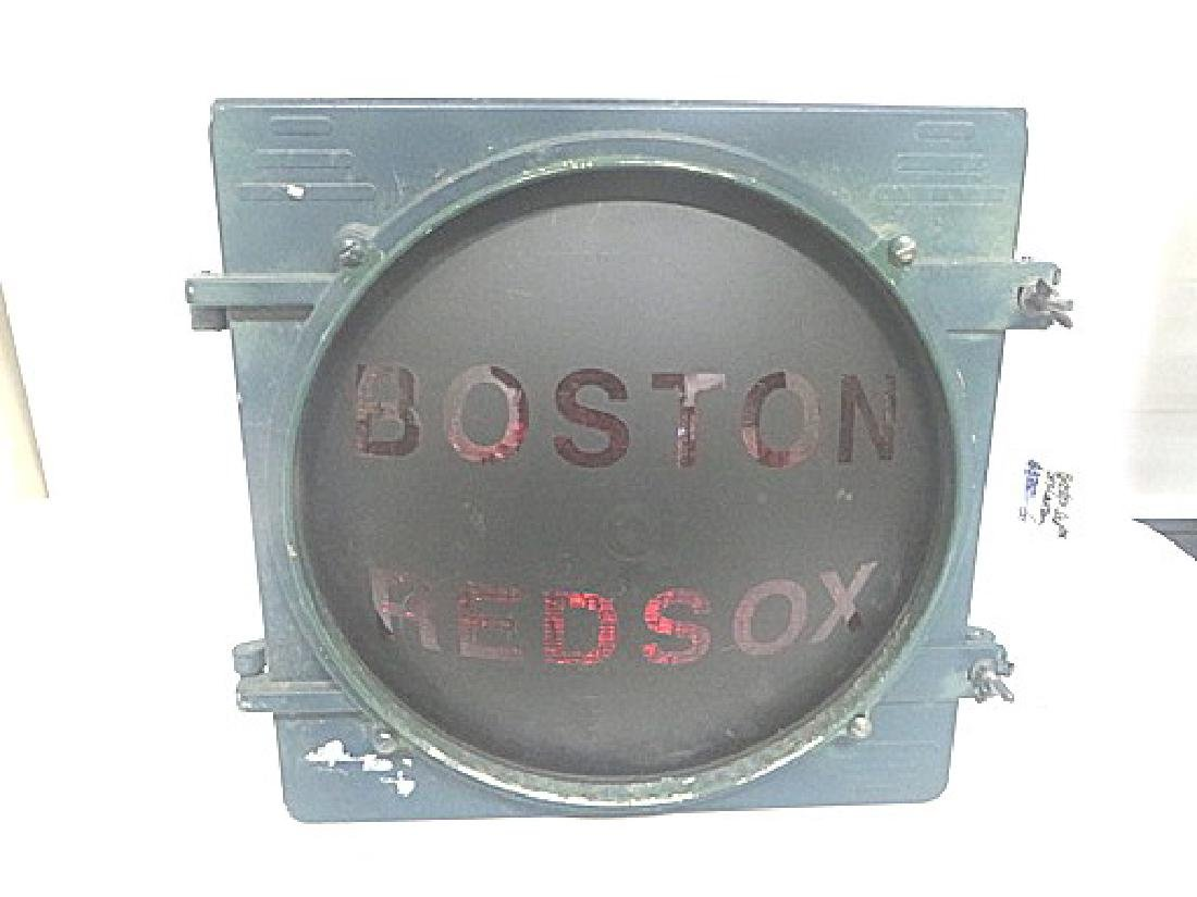 Street Lamp Boston Red Sox