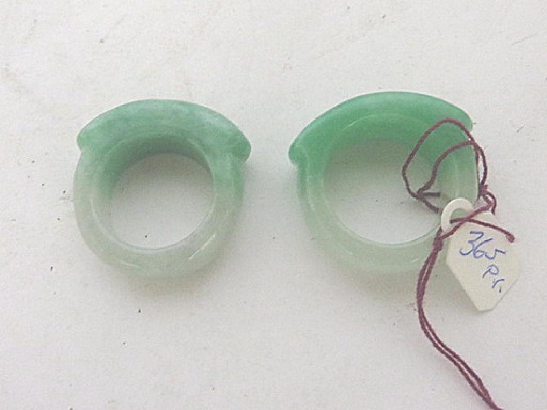 Pr. Jadeite Rings
