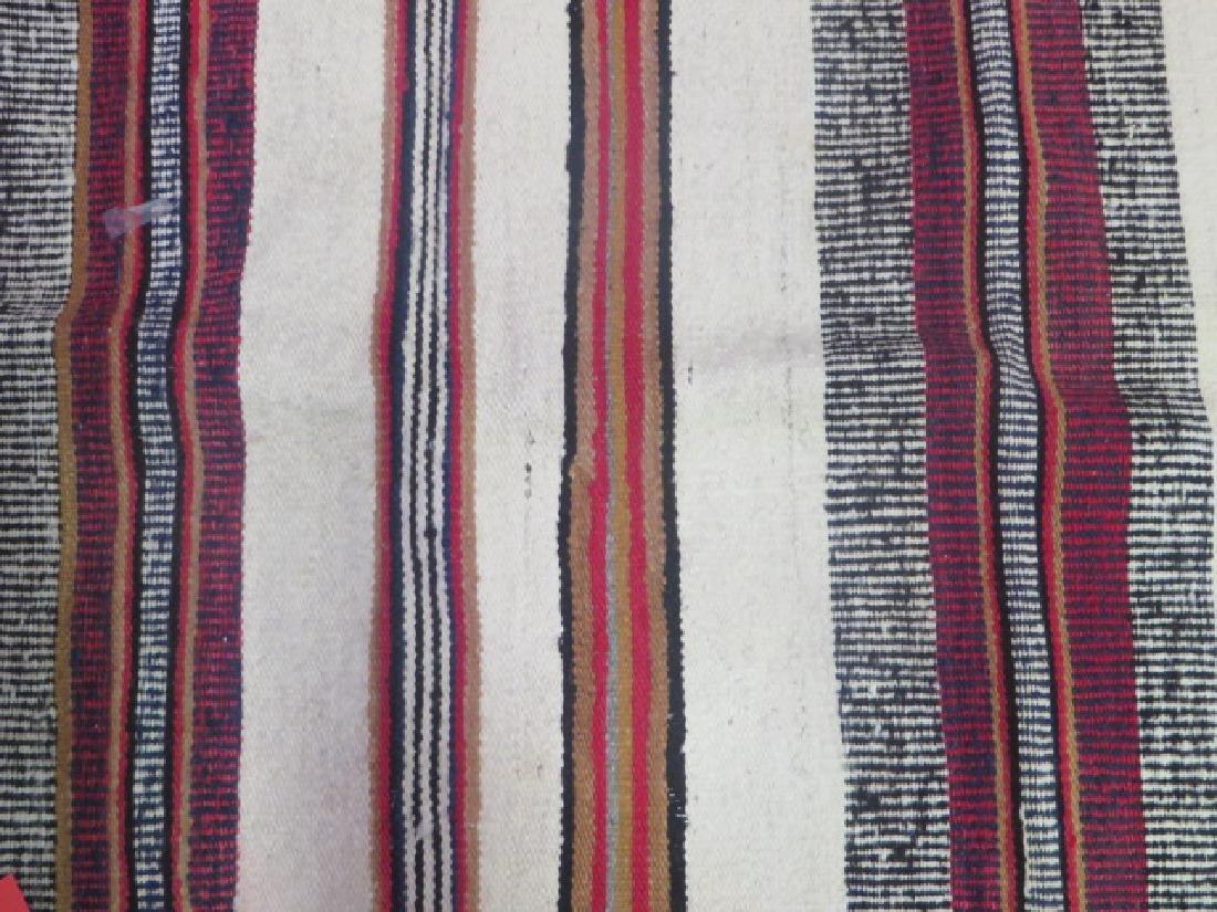 Vintage American Indian Flat Weave Carpet - 2