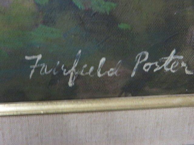 Fairfield Porter. Oil. Landscape. Signed - 3
