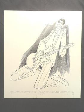 Paul Hipp as Buddy Holly. Nov. 1990