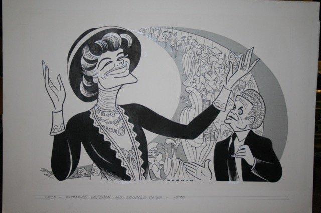 Hepburn, Katherine. Coco. 1970