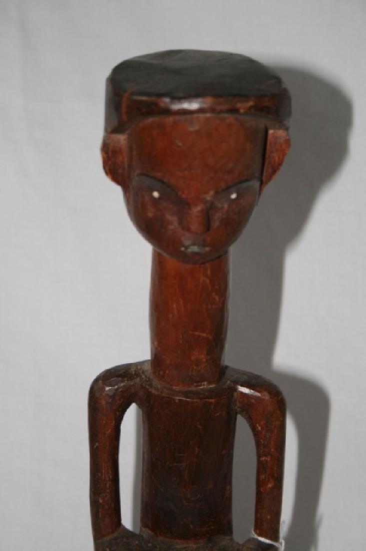 Antique African Gabon Carved Figure - 2