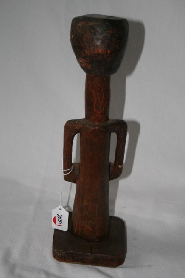 Antique African Gabon Carved Figure - 3