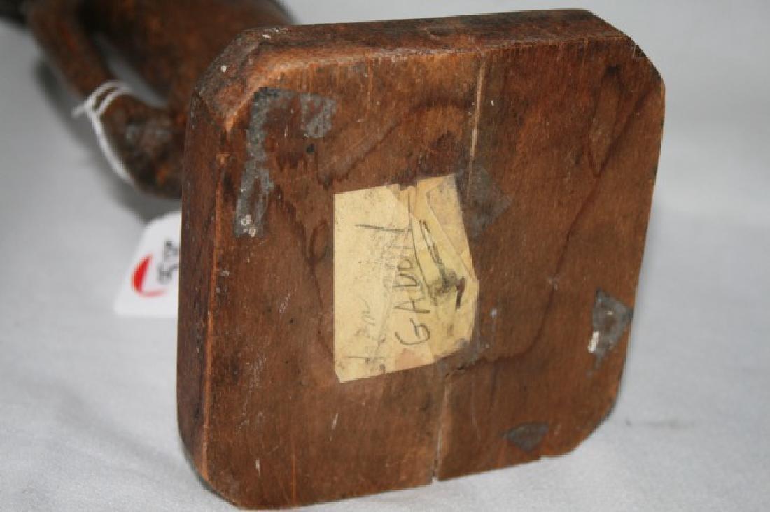 Antique African Gabon Carved Figure - 4