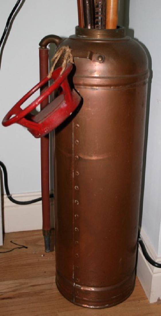 Copper Fire Extinguisher - 2