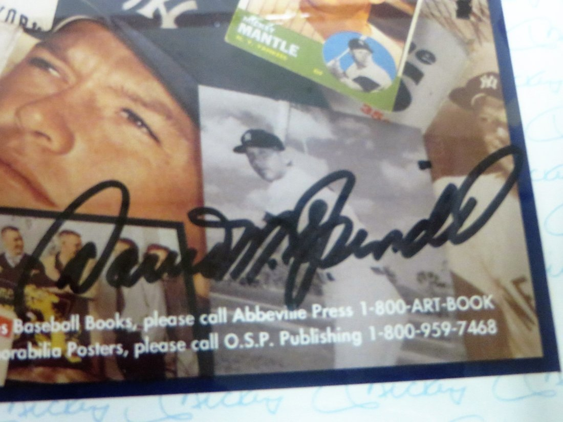 Mickey Mantle Collage Signed Mickey Mantle No.7 - 3