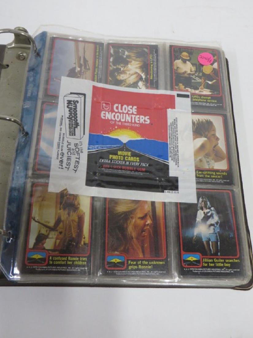 Close Encounters Movie Photo Cards 1978. (68)