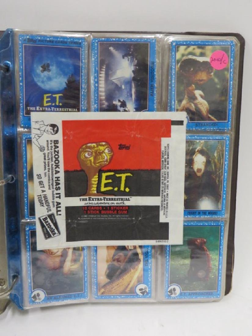 Extra-Terrestrial Bazooka Cards 1982. (87)