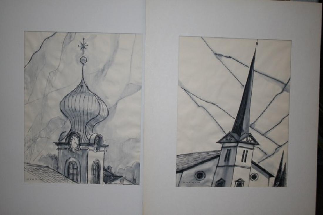 Sam Norkin. Watercolors (2)