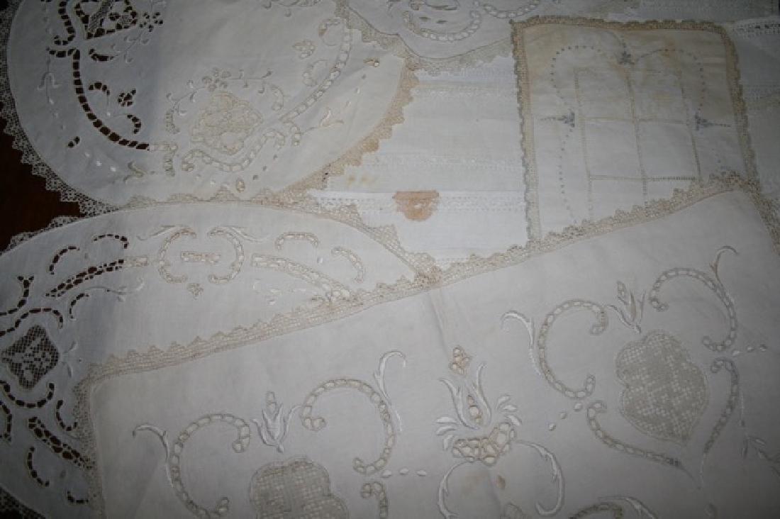 Antique Linen Lot (17) - 3