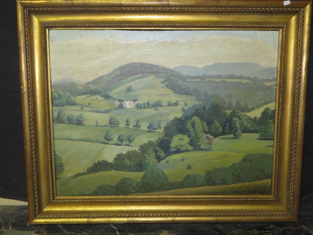 William A. Grifith. Oil. Landscape. Signed.