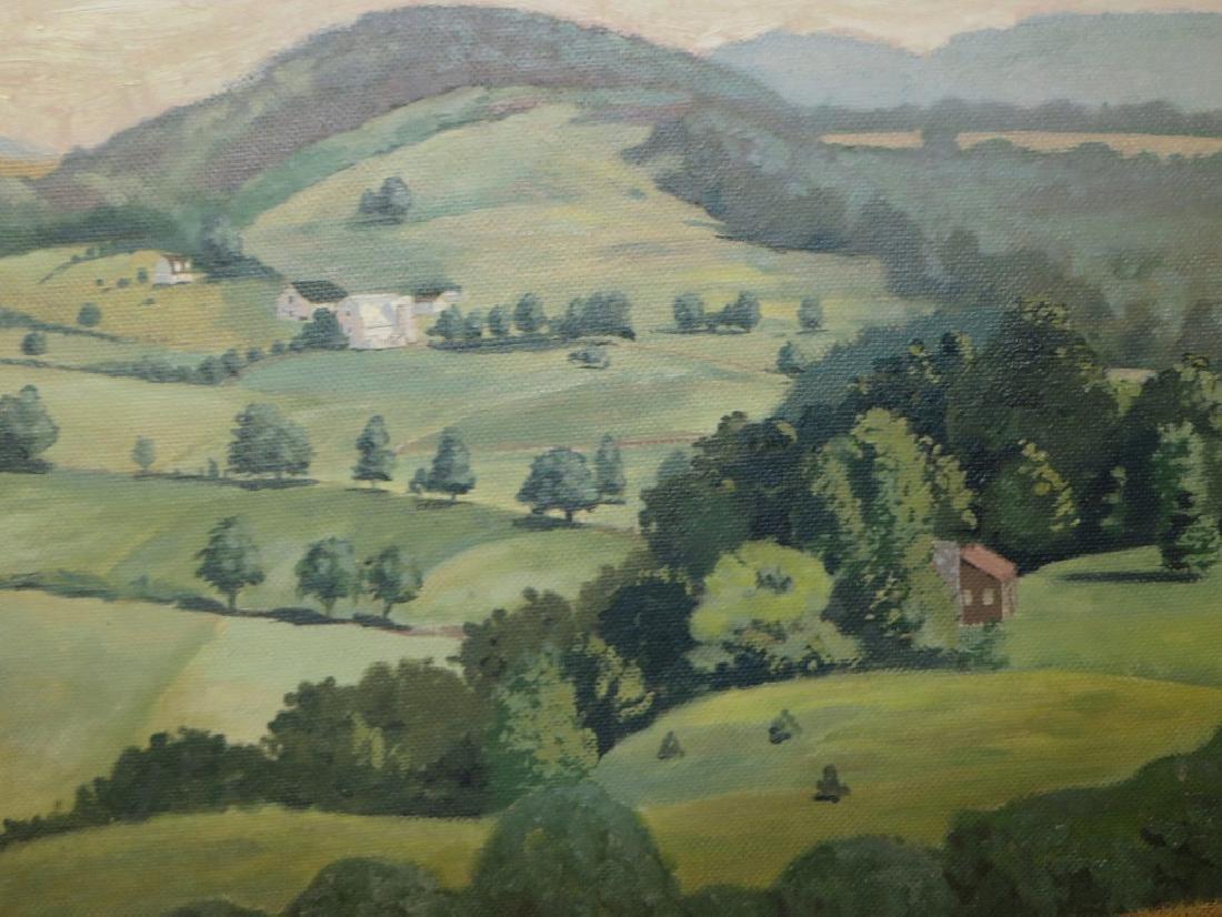 William A. Grifith. Oil. Landscape. Signed. - 2