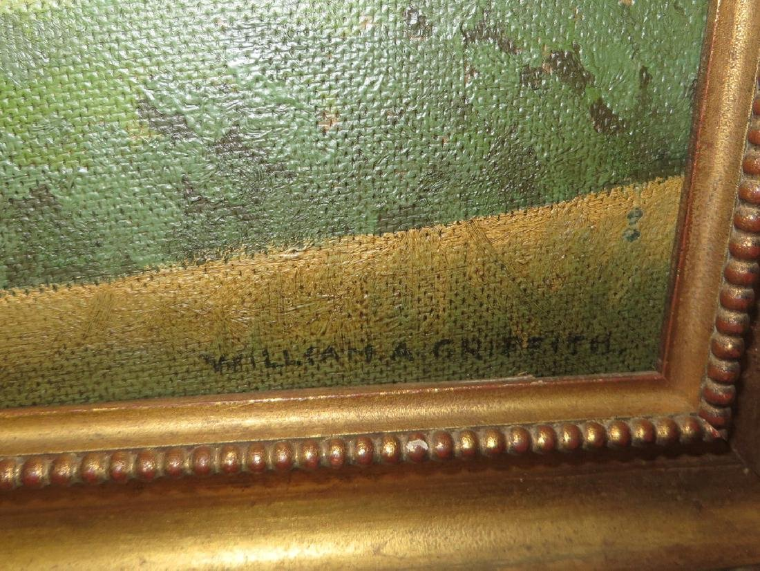 William A. Grifith. Oil. Landscape. Signed. - 3