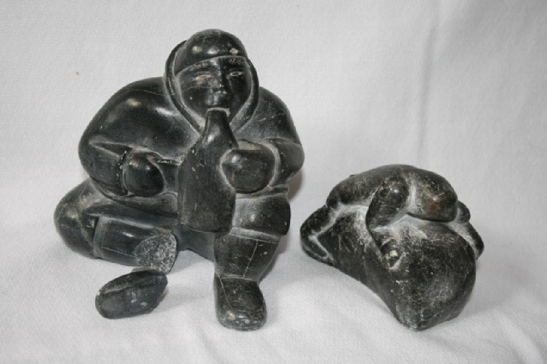 Inuit Soapstone Carvings (2)