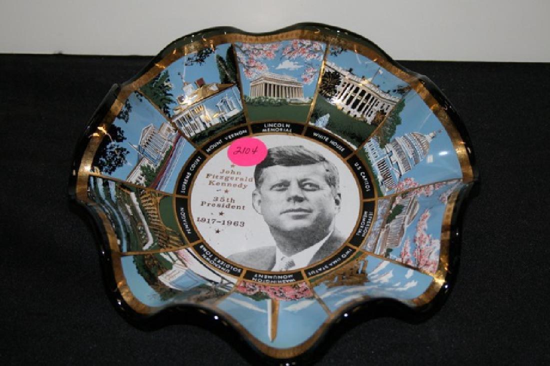 John F. Kennedy Commemorative Bowl