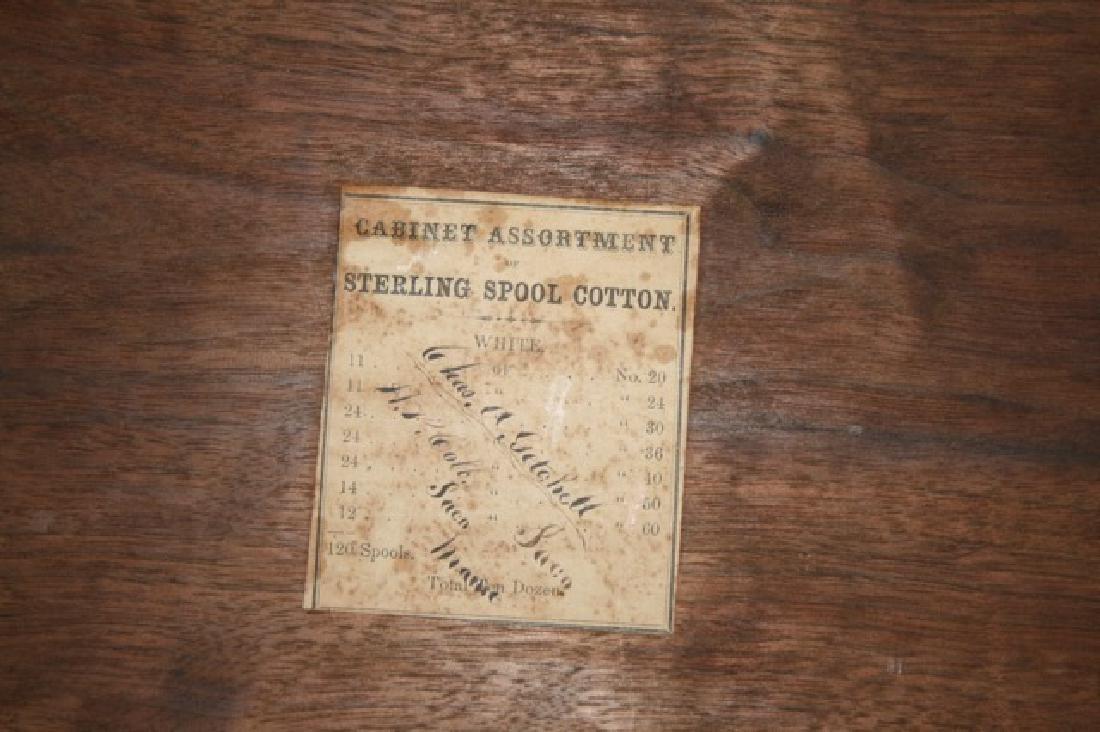 Wooden Sewing Thread Spool Box - 2