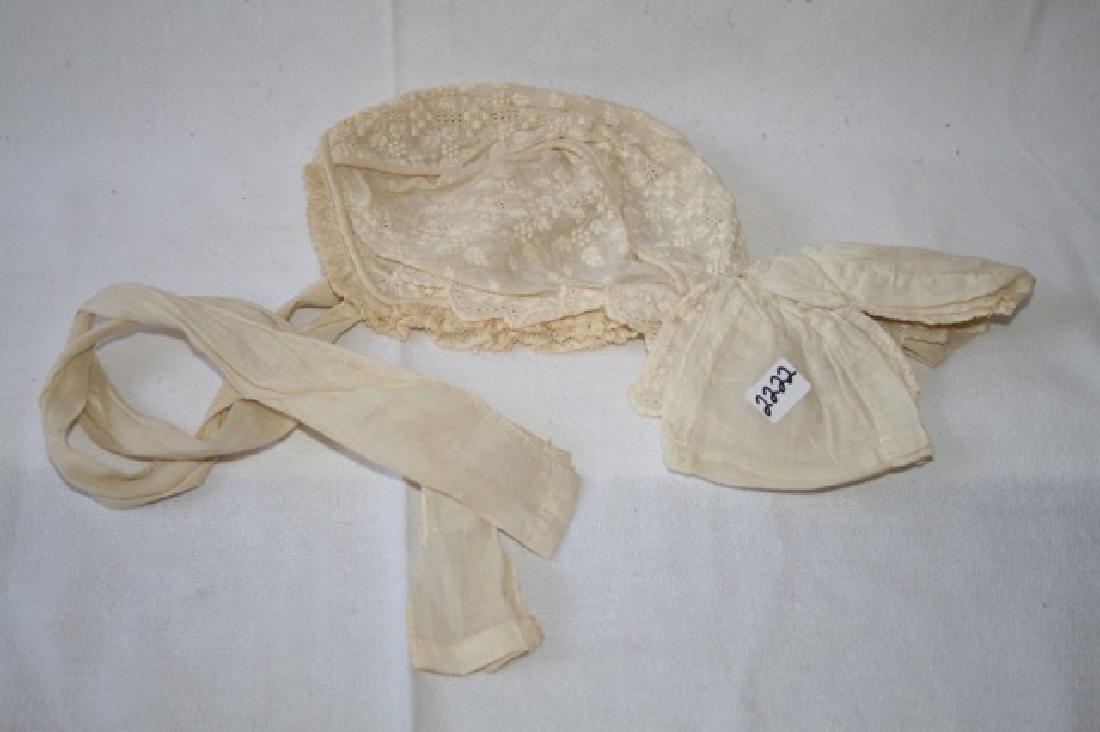 Antique Christening Bonnet