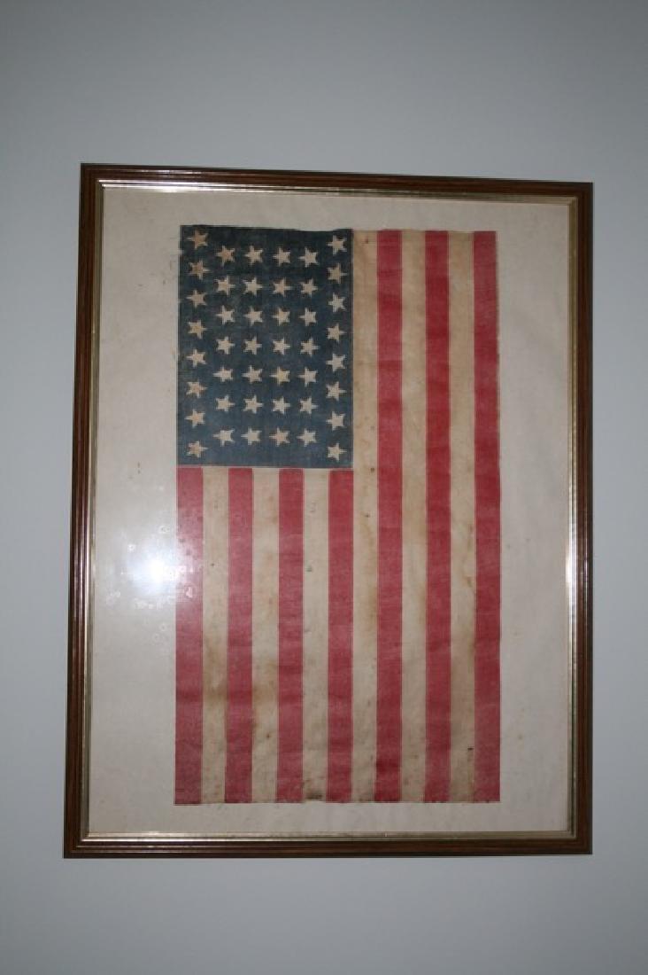 44 Star Hourglass Design America Flag
