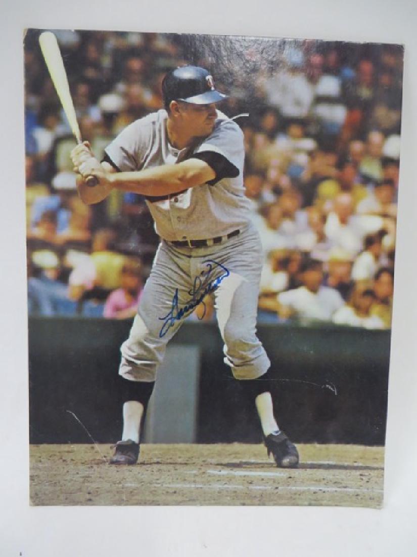 Autographed Baseball Photo