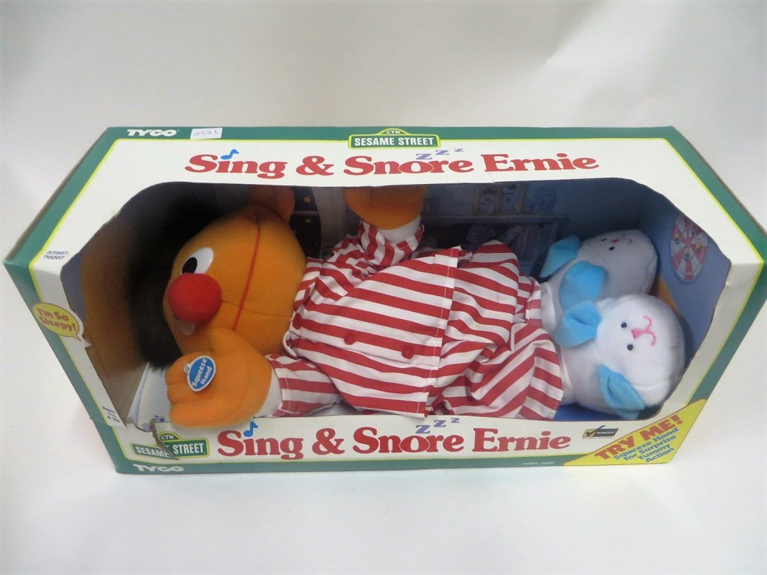 Sing & Snore Sesame Street Ernie Toy