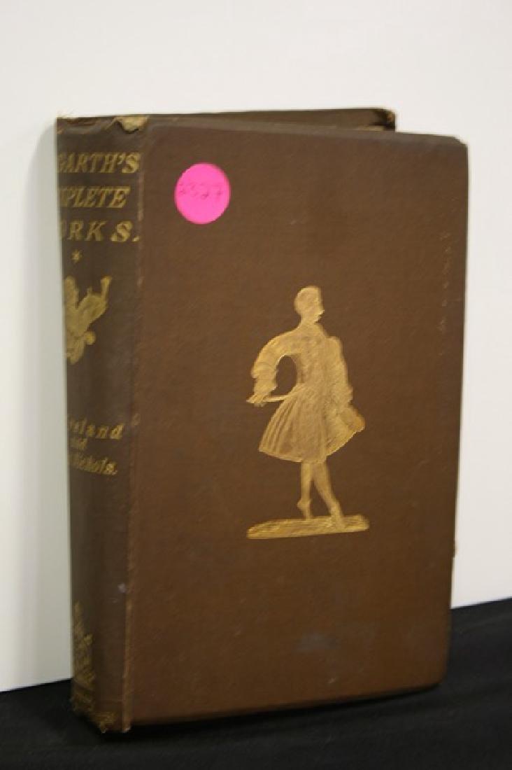 Book. Hogarth's Complete Works. 1883