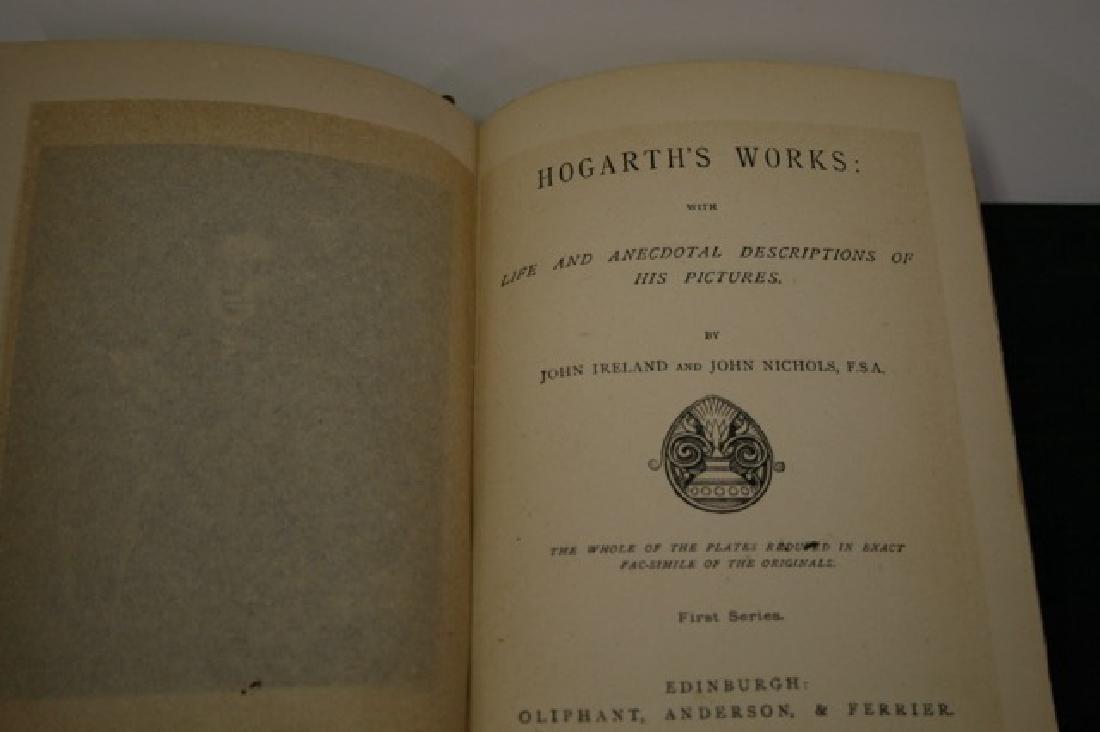 Book. Hogarth's Complete Works. 1883 - 2