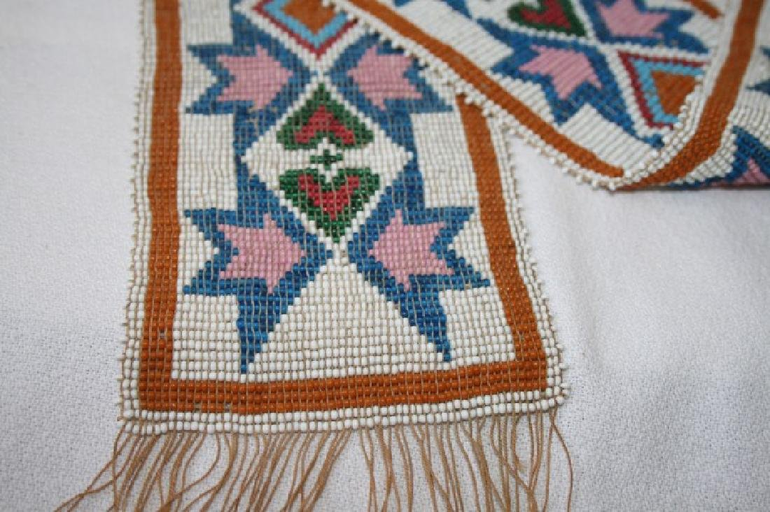 American Indian Beadwork Belt - 2