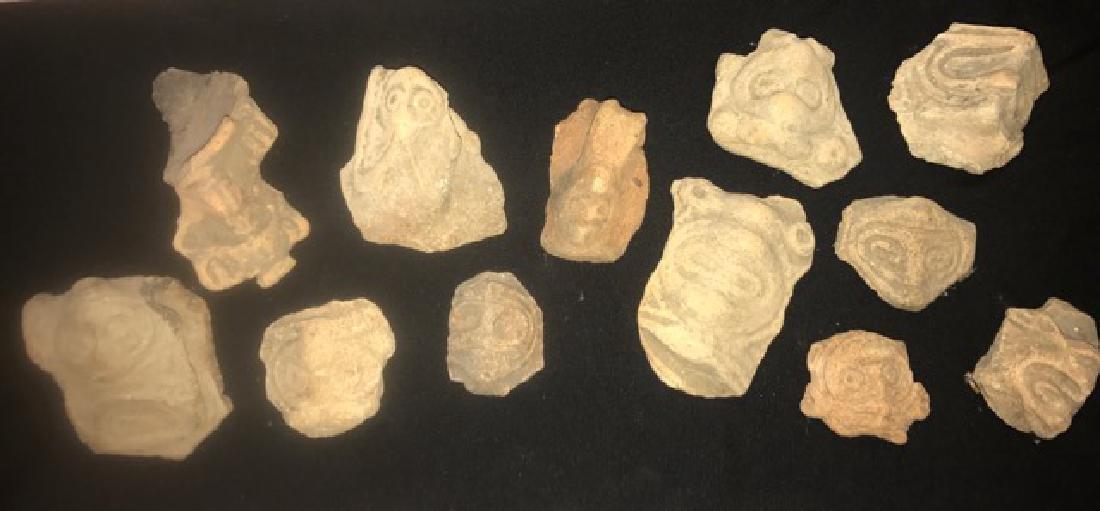 Pre-Columbian Taino Pottery Artifacts (12)