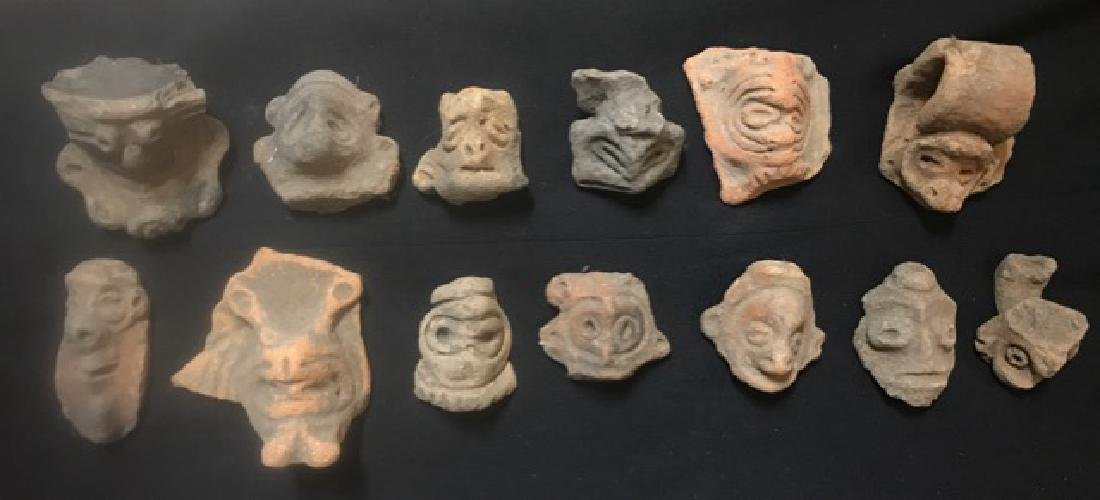 Pre-Columbian Taino Pottery Artifacts (13)