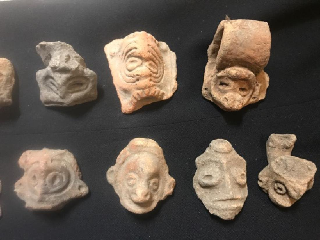 Pre-Columbian Taino Pottery Artifacts (13) - 3