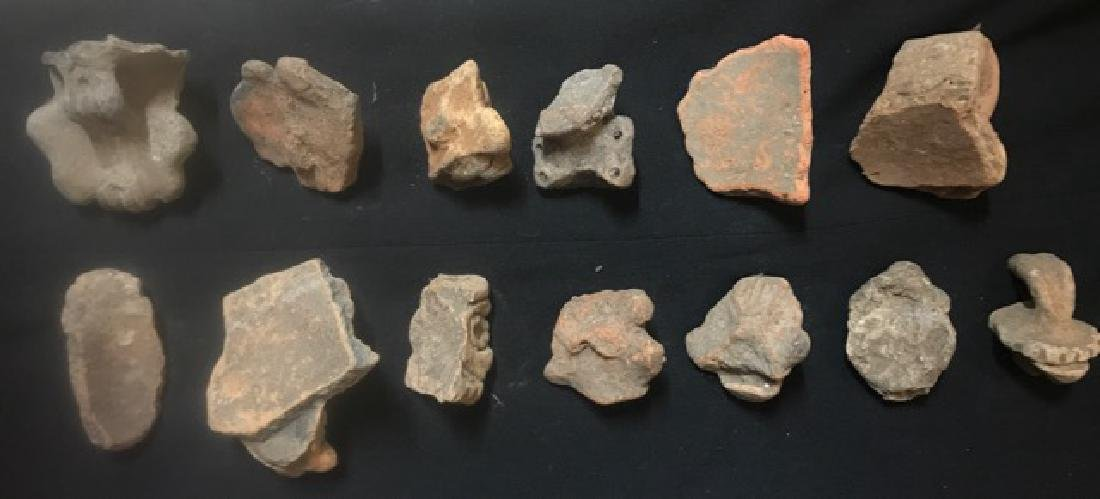 Pre-Columbian Taino Pottery Artifacts (13) - 4