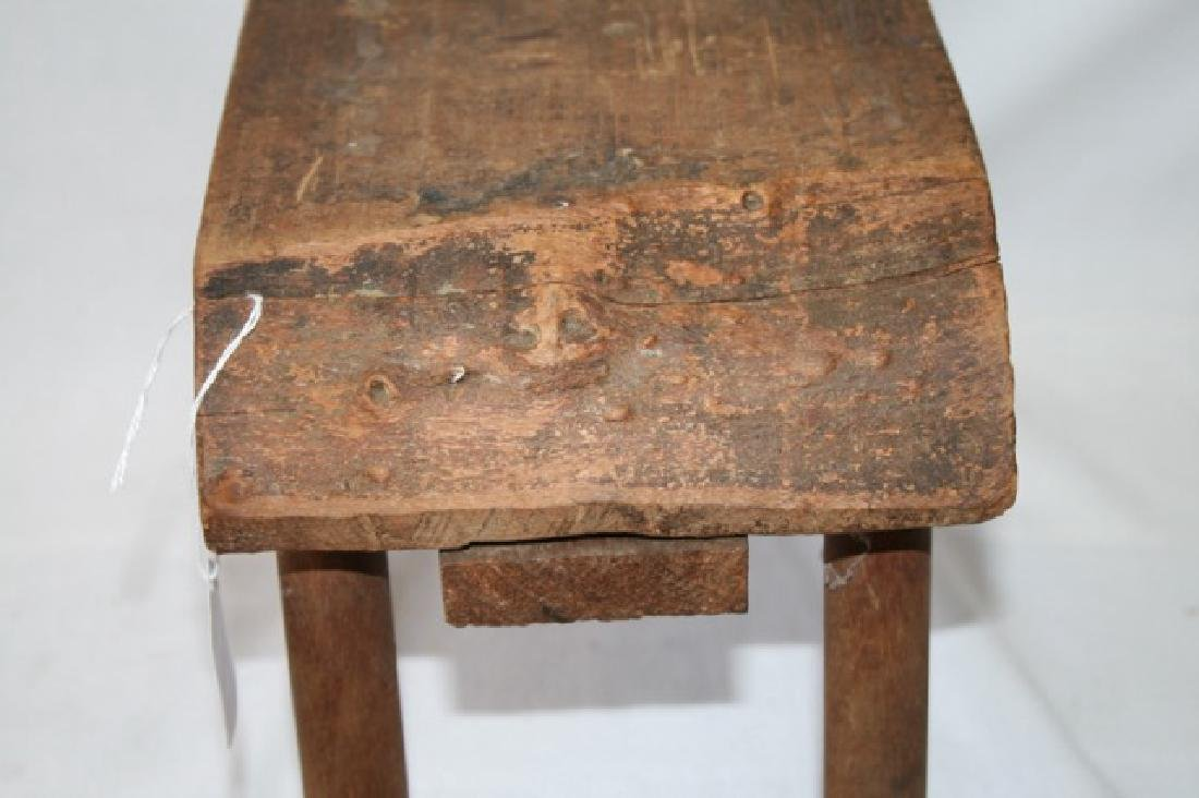 Primitive Milking Stool - 3