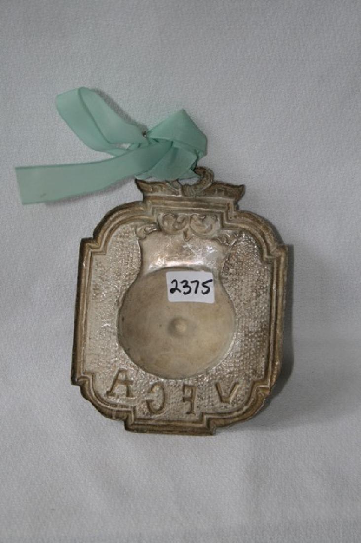 Italian Silver Ex Voto Breast - 2