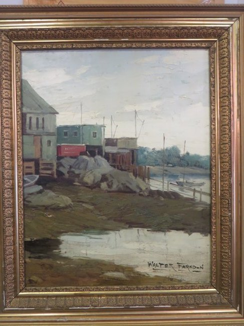 Walter Farndon. Oil. Signed. - 2