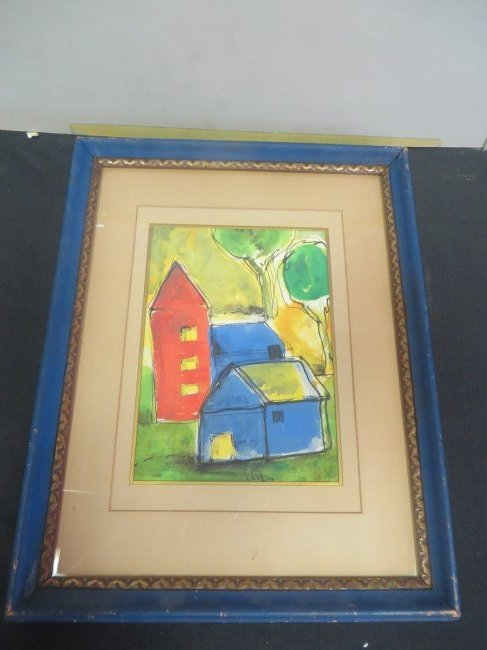 Arthur Dove. Watercolor. Signed - 2