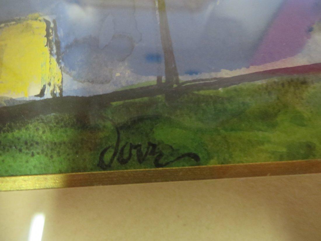 Arthur Dove. Watercolor. Signed - 3