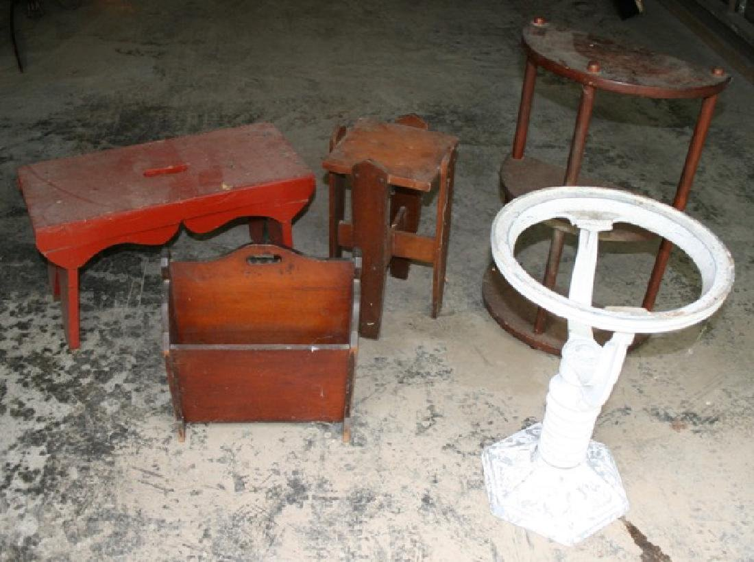 Five Misc. Pieces of Small Furniture - 3