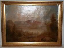19th C. Hudson River Landscape, Charles Tice