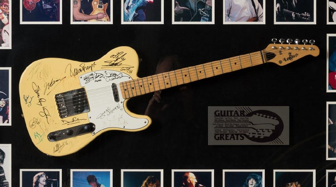 Guitar Greats Signed Lotus Guitar - 2
