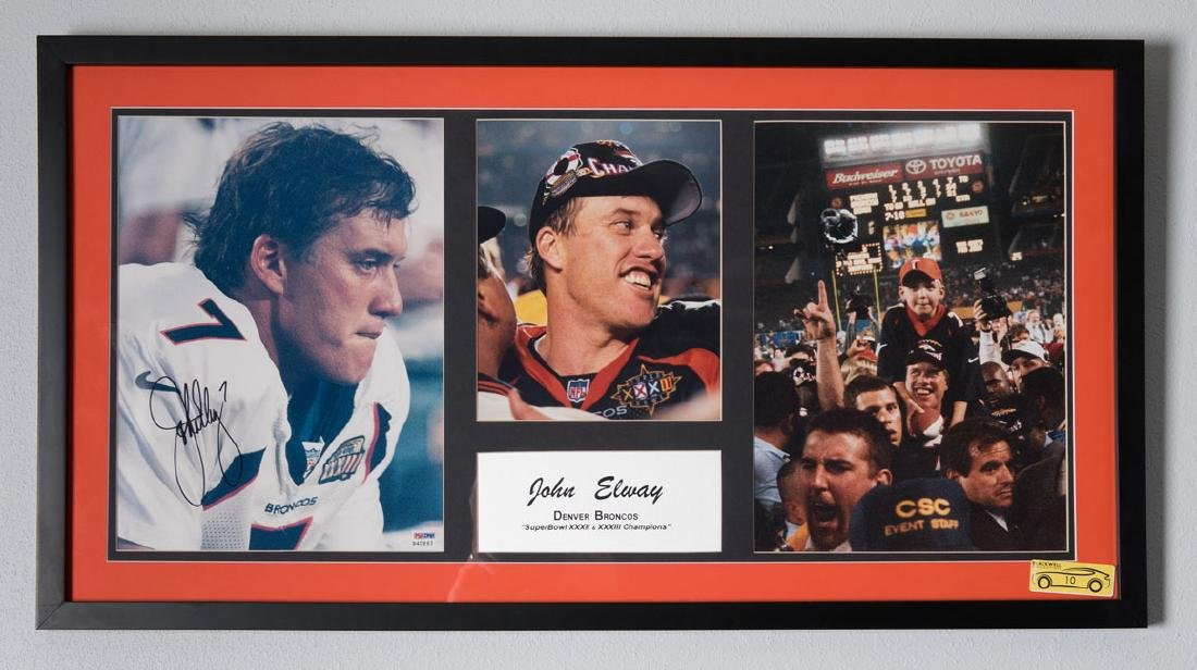 John Elway Memorabilia