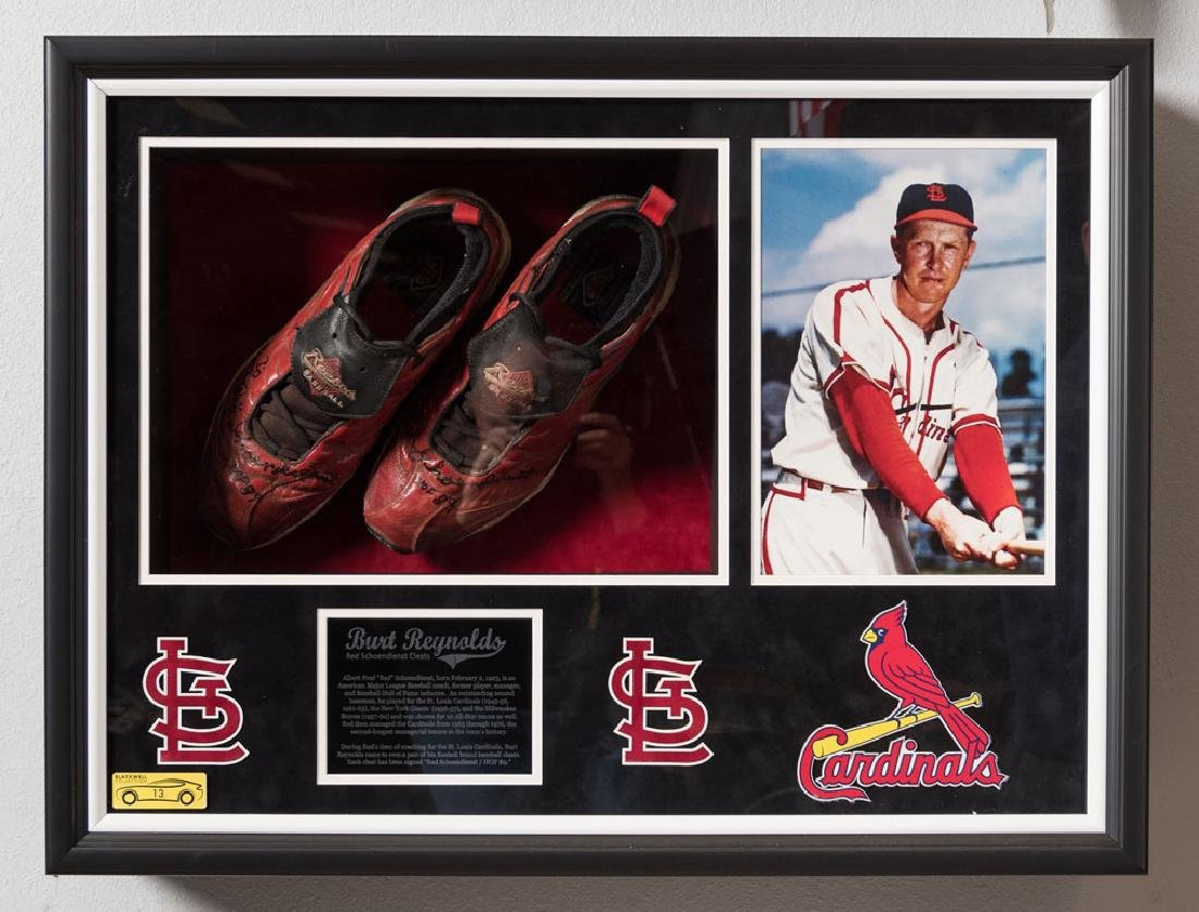 Red Schoendienst Cleats
