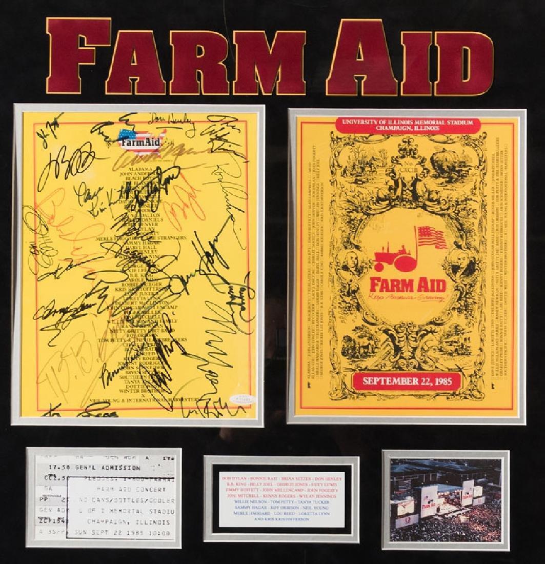 Farm Aid Signed Program - 2