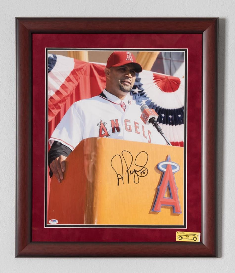 Albert Pujols Signed Photo