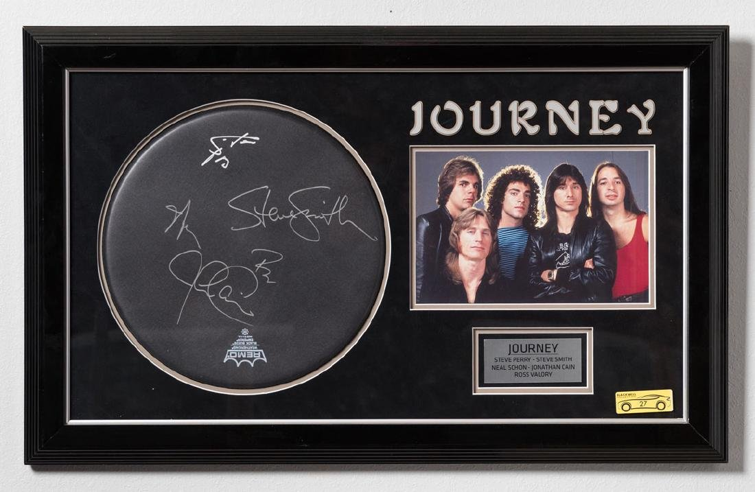 Signed Journey Drumhead