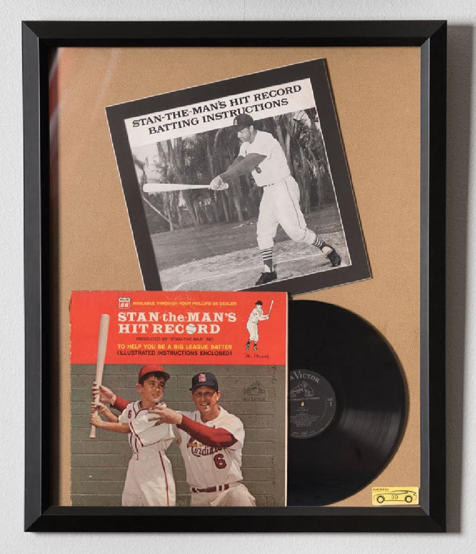 Stan Musial Batting Instructions Record
