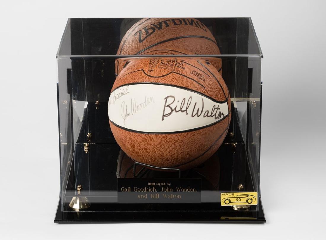 Signed Hall of Fame Basketball