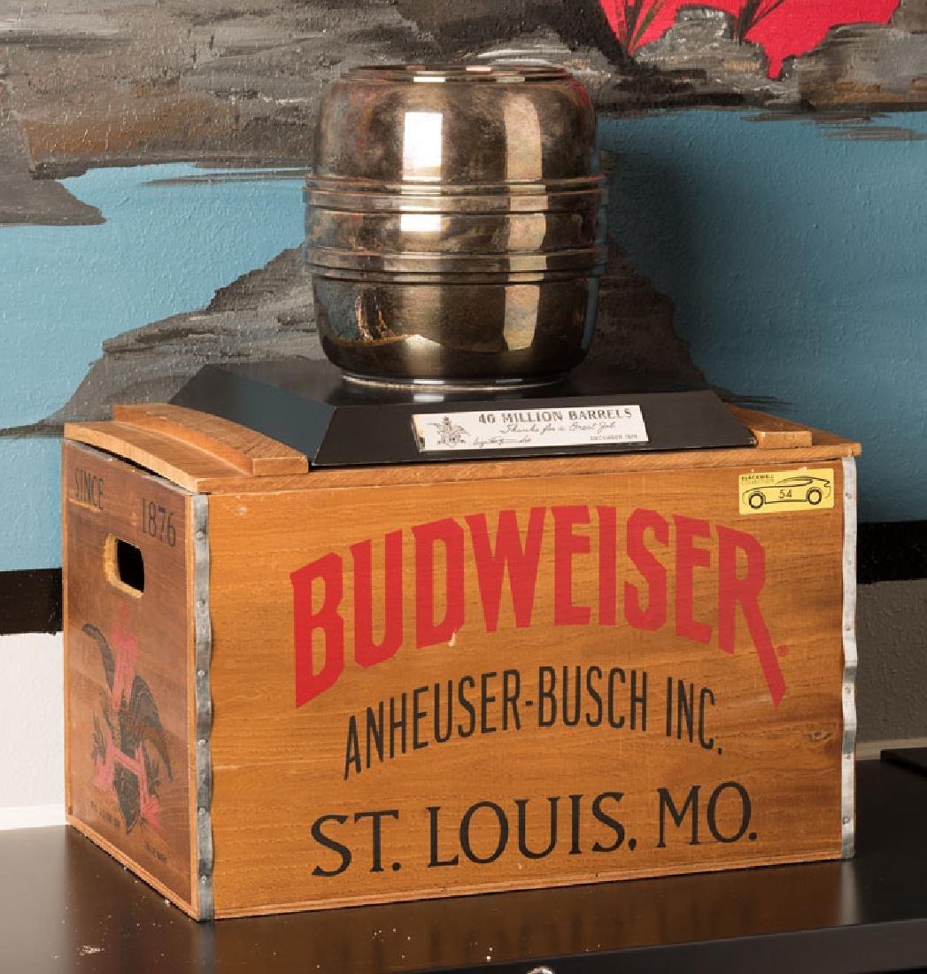 Budweiser 40 Million Barrels Trophy