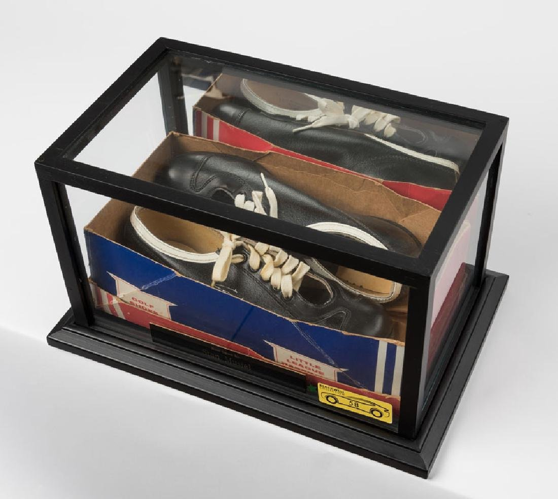 Stan Musial Signed Shoes
